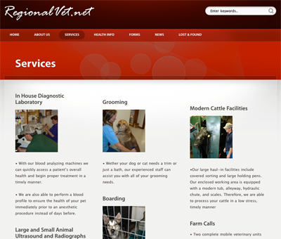 Regional Veterinary Service Preview