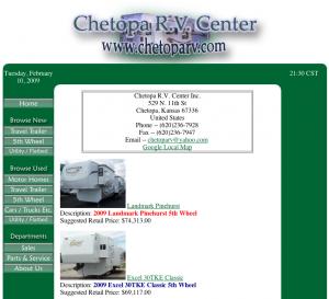 Chetopa RV Center Preview